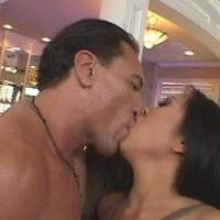 Asian hussy Kitty Langdon loves big cocks